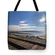 White Rock Promenade In British Columbia Tote Bag