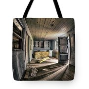 White Room, Yellow Couch, Real Estate Series Tote Bag