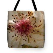White Rose Centerpiece Tote Bag