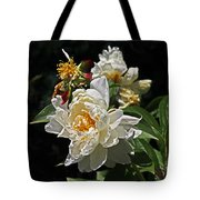 White Rose In Autumn Tote Bag