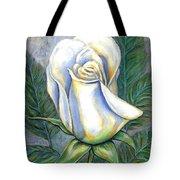 White Rose One Tote Bag