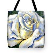 White Rose Two Tote Bag