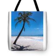 White Sand Beaches And Tropical Blue Skies Tote Bag