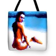 White Sand Tote Bag