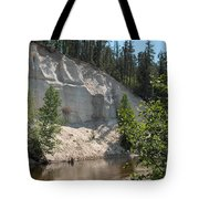 White Sands Cliff Tote Bag
