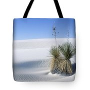 White Sands Dune And Yuccas Tote Bag