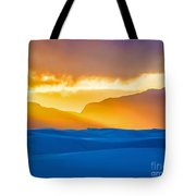 White Sands Sunset 2 Tote Bag