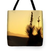 White Sands Sunset Tote Bag