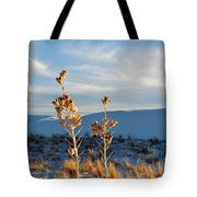 White Sands Yucca Row Tote Bag