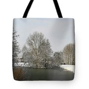 White Vision Around Canals Tote Bag