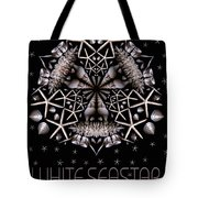 White Seastar Tote Bag