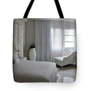 White Serenity  Tote Bag
