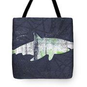 White Shark- Art By Linda Woods Tote Bag