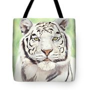 White Silence Tote Bag