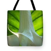White Song Tote Bag