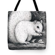 White Squirrel Tote Bag