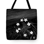 White Stars Tote Bag