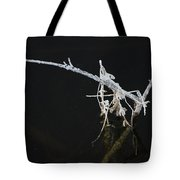 White Stick Tote Bag