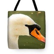 White Swan Profile Tote Bag