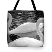 White Swans Tote Bag