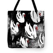 White Swans Tote Bag