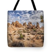 White Tank Rocks Tote Bag