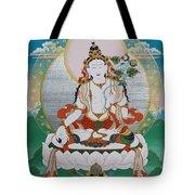 White Tara Chintamani Sita Tara Tote Bag