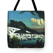 White Terraces, Rotomahana, By William Binzer. Tote Bag