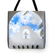 White The Color Of Innocence Tote Bag