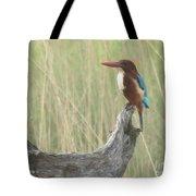 White Throated Kingfisher Tote Bag