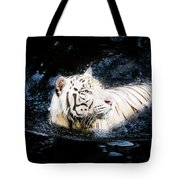 White Tiger 21 Tote Bag