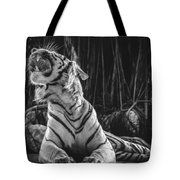 White Tiger. Growl. Tote Bag