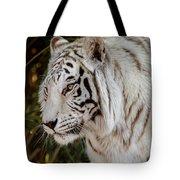 White Tiger Portrait 2 Tote Bag