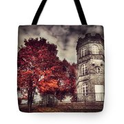 White Tower Of Autumn Tote Bag