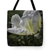 White Tulip 1 Tote Bag