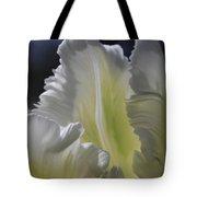 White Tulip 2 Tote Bag