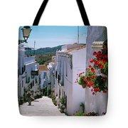 White Village Of Frigiliana Andalucia., Spain Tote Bag