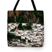 White Village Of Ubrique Spain Tote Bag