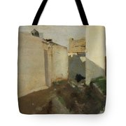 White Walls In Sunlight Tote Bag