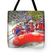 July In Oregon, White Water Rafting Tote Bag