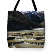 White Water River - Lijiang Tote Bag