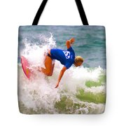 White Water Time Tote Bag