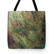 White Wildflowers-2 Tote Bag