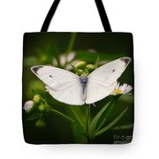 White Wings Of Wonder Tote Bag