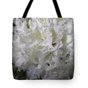 White Wit Tote Bag