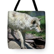 White Wolf 1 Tote Bag