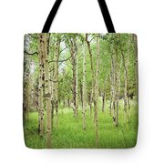 White Woods Tote Bag