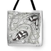 White Zen 18 Tote Bag