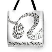 White Zen 20 Tote Bag