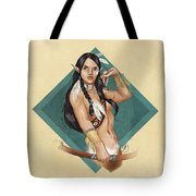Whitefeather V.2 Tote Bag by Brandy Woods